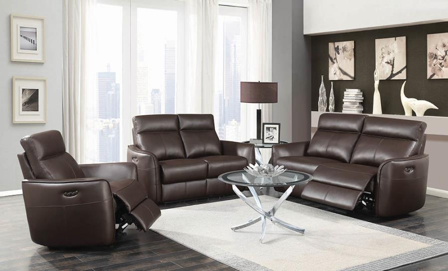 Complete Power Motion Reclining Sofa Set