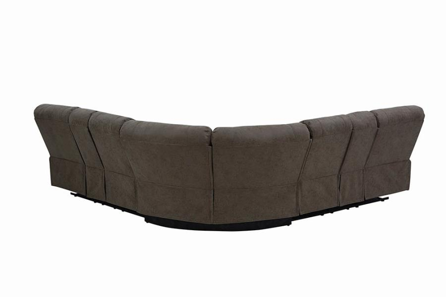 Complete 3-Piece Sectional Sofa Back