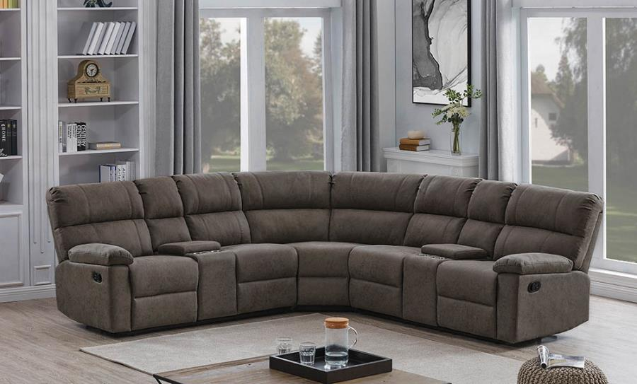 Complete 3-Piece Sectional Sofa
