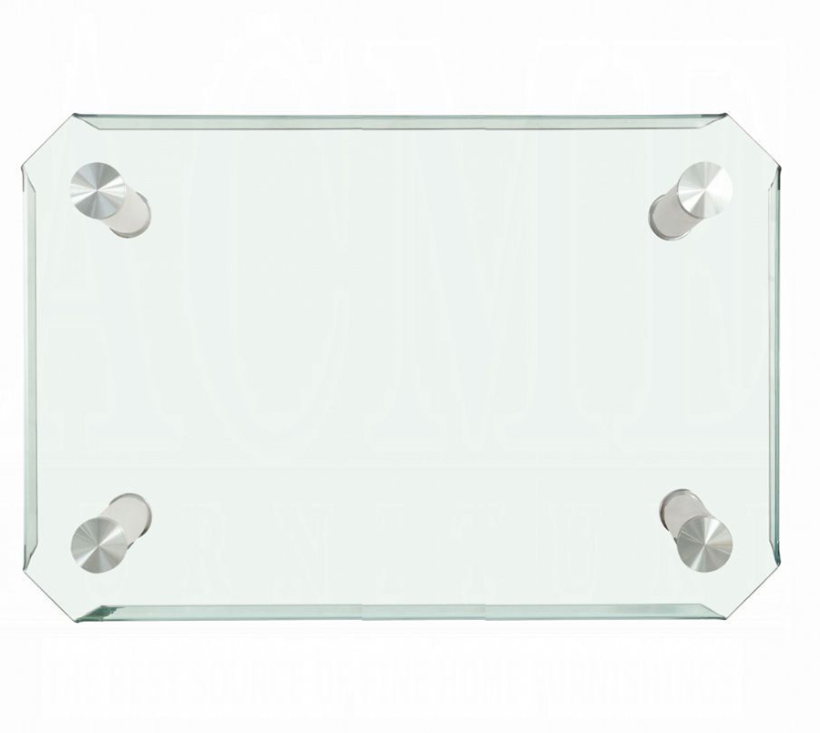 Tempered Clear Glass Top
