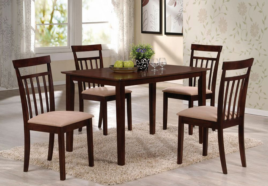 Complete 5 Piece Dining Table Set