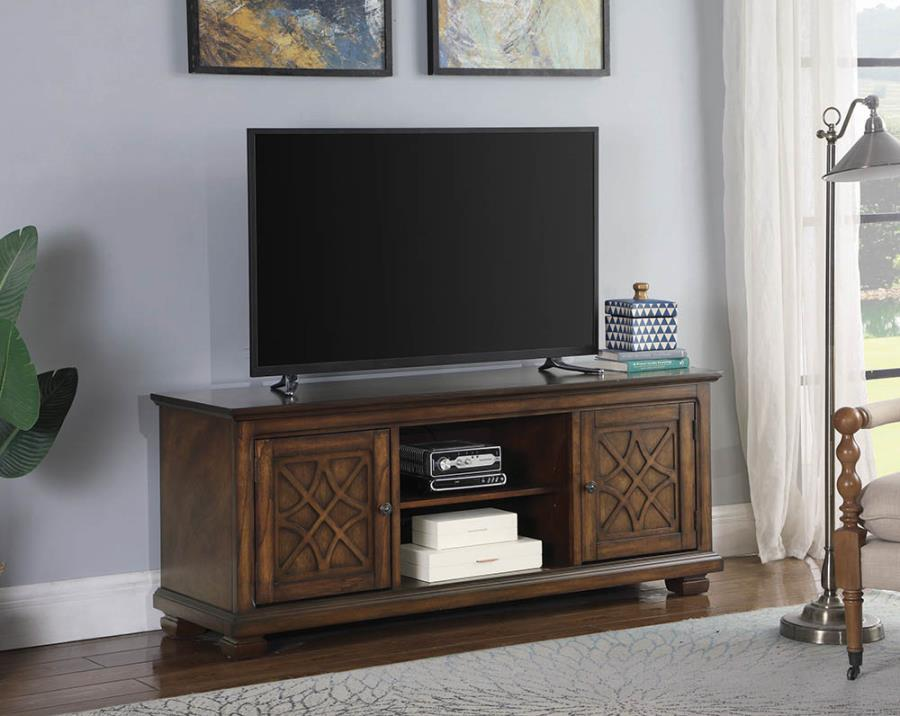 Golden Brown TV Console