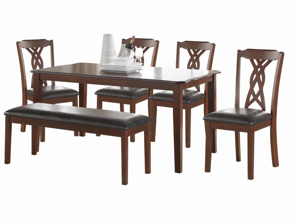 6 Piece Dining Table Set