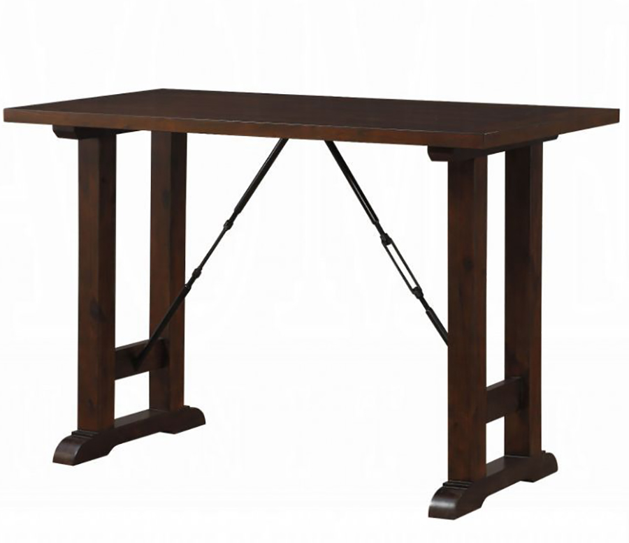 Walnut Counter Height Table