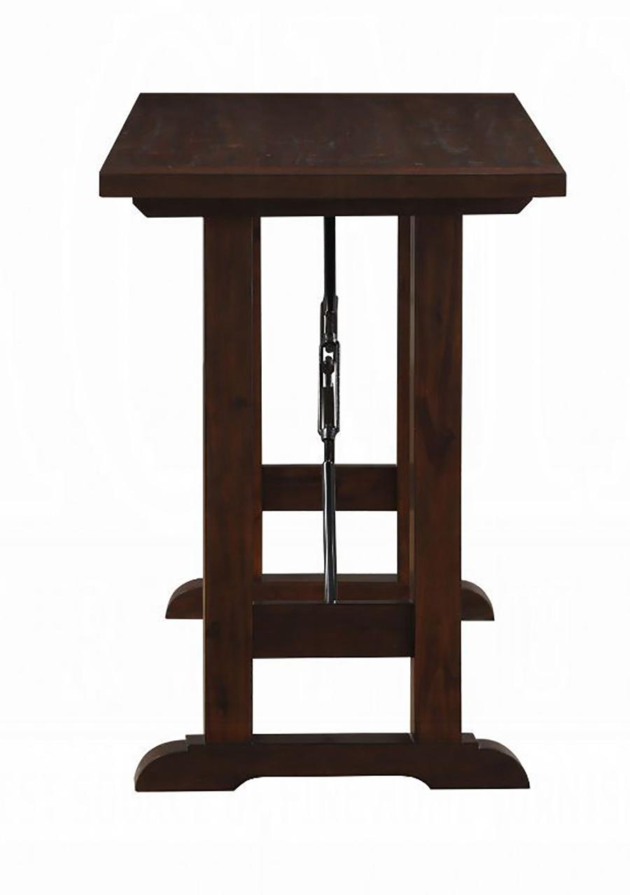 Walnut Counter Height Table Leg Base