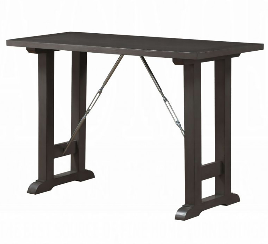 Gray Oak Counter Height Table