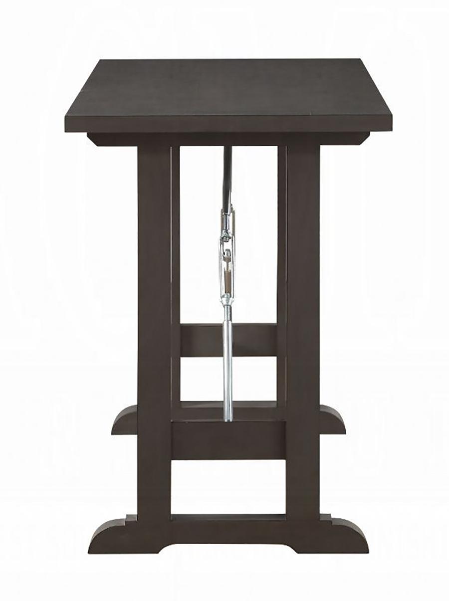 Gray Oak Counter Height Table Leg Base