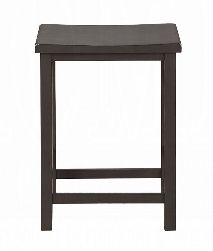 Gray Oak Counter Height Stool Front