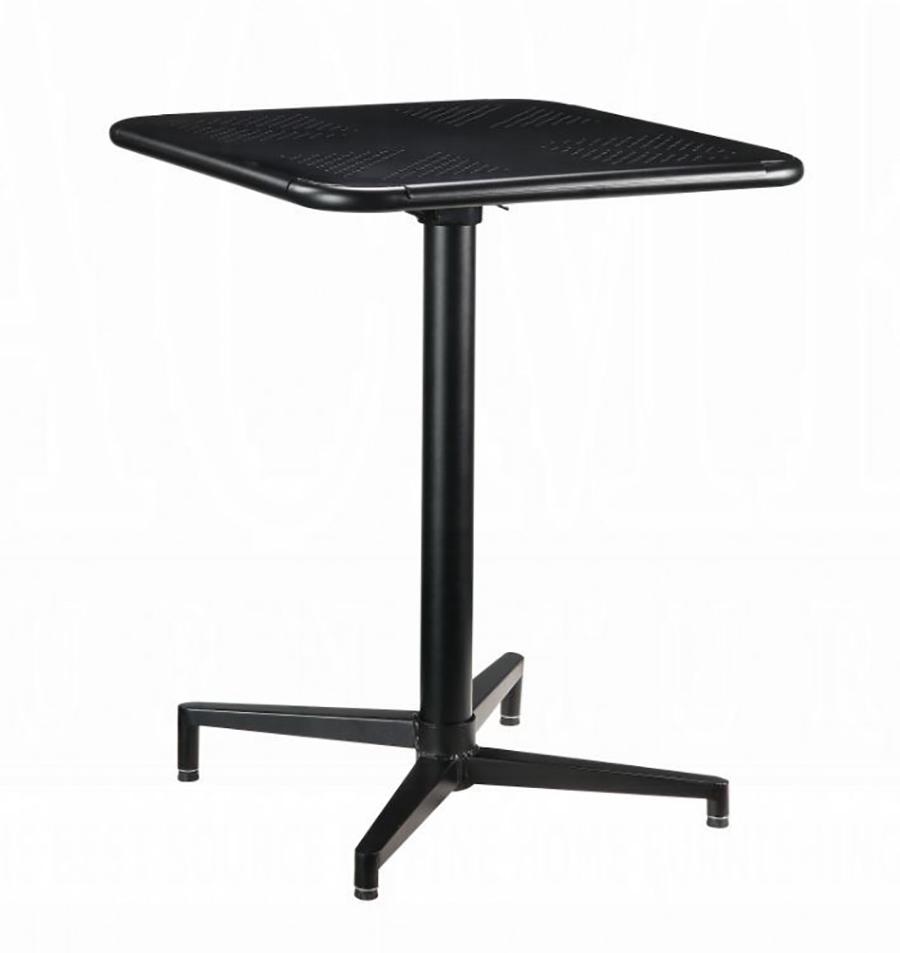 Black Folding Table Angle