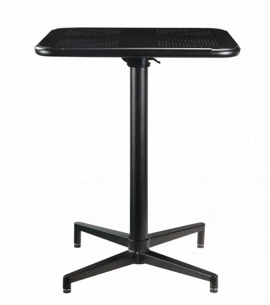 Black Folding Table Front