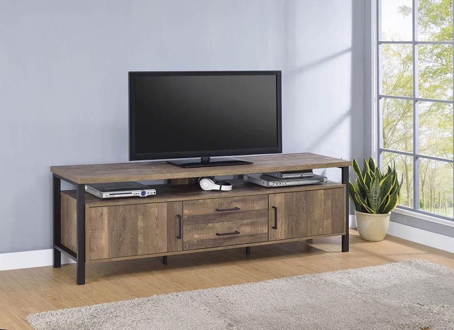 "Rustic Oak 71"" TV Console"