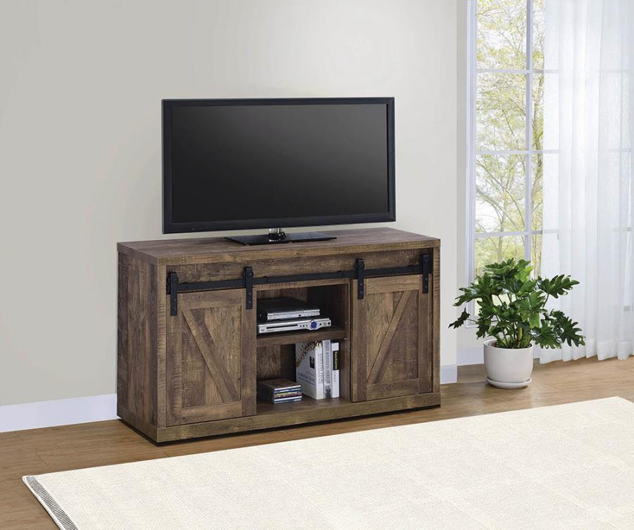 "Rustic Oak 48"" TV Console"