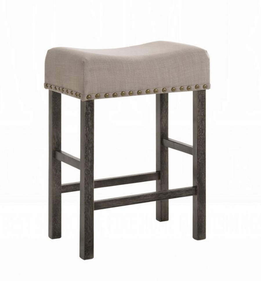 Weathered Gray Counter Height Stool