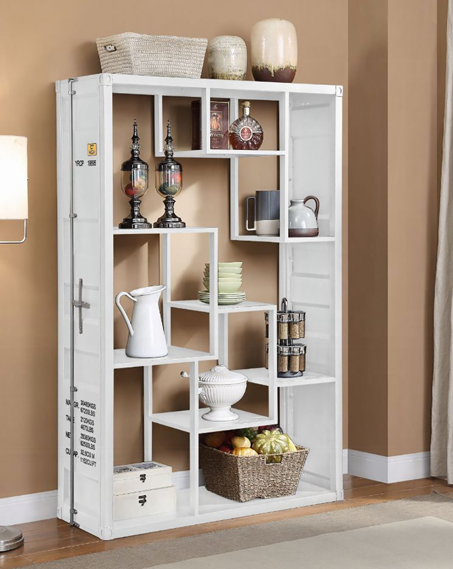 White Shelf Rack