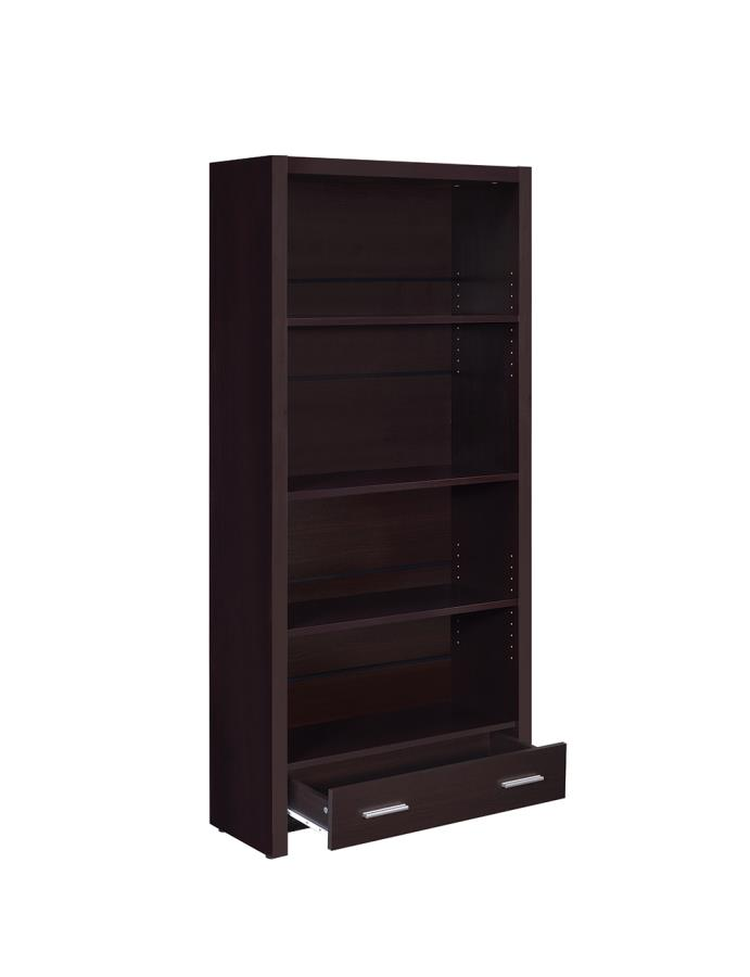 Bookcase with 2 Drawers Opened