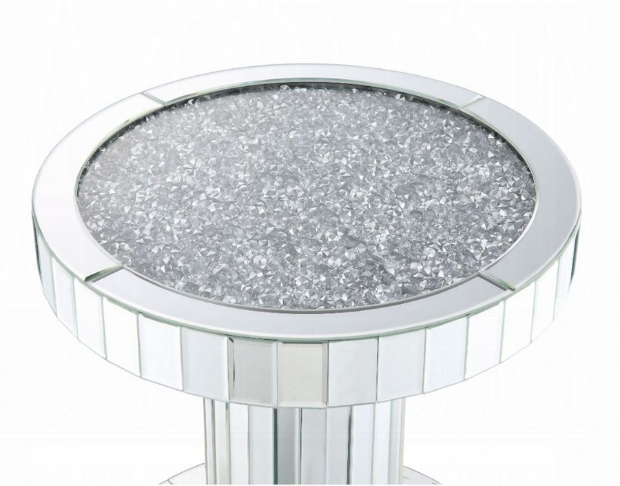 End Table Faux Stone Table Top