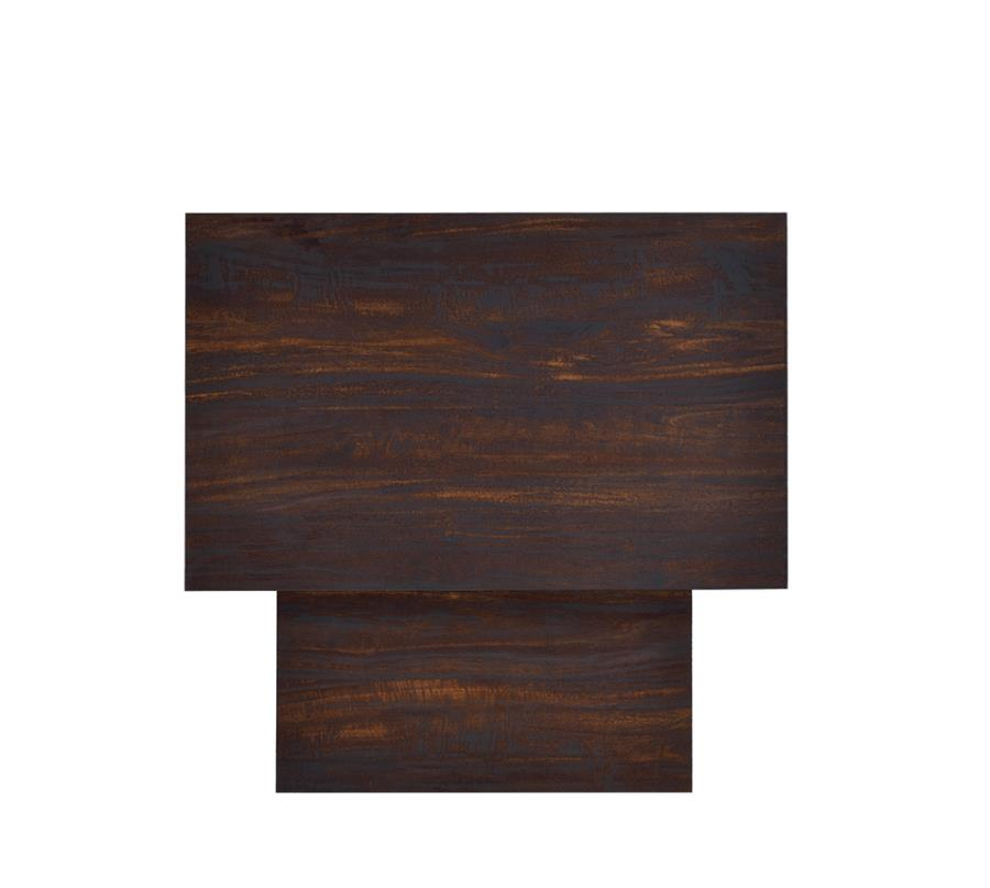 Two Piece End Table Set Top View
