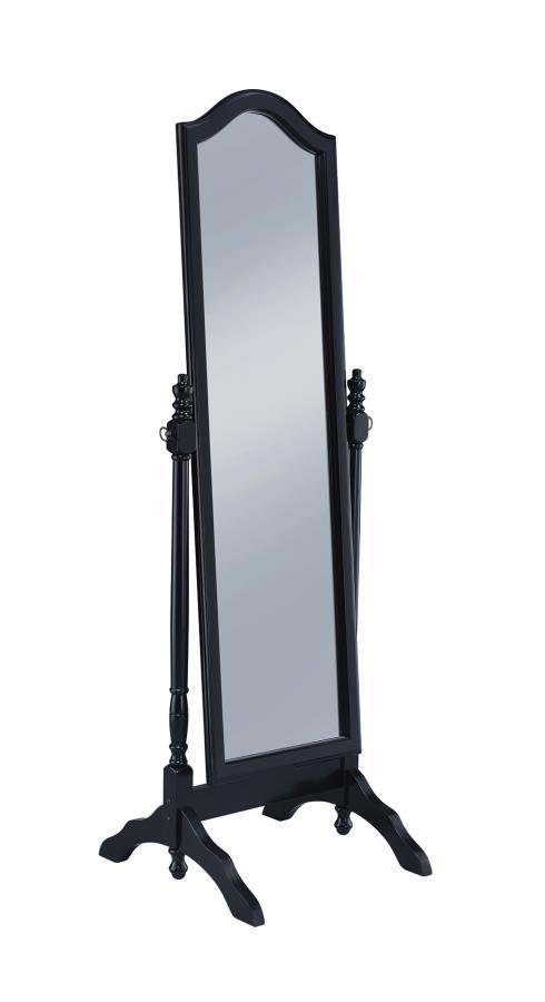 Black Cheval Mirror Angle