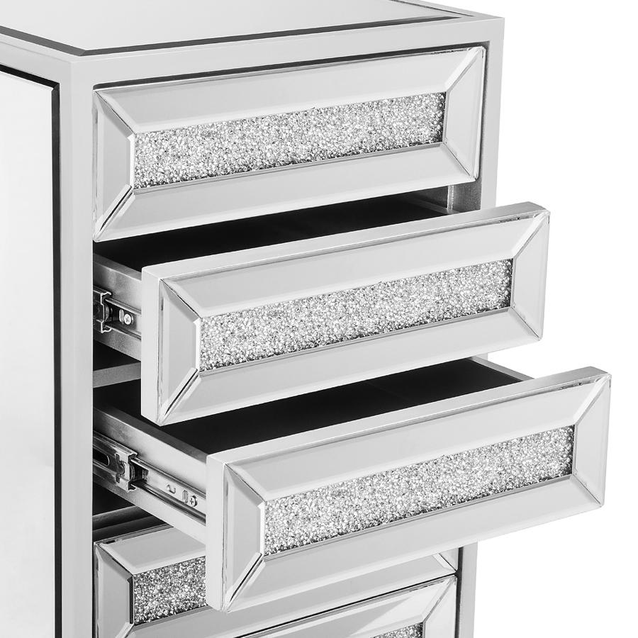 Silver Top 3 Drawers Demo