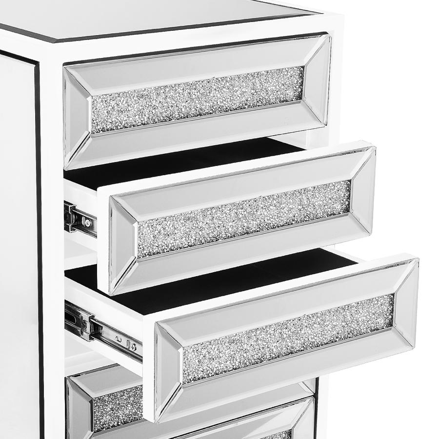 White Top 3 Drawers Demo