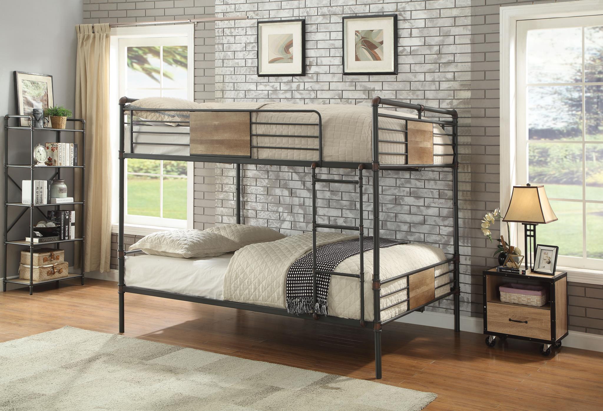 Queen/Queen Bunk Bed