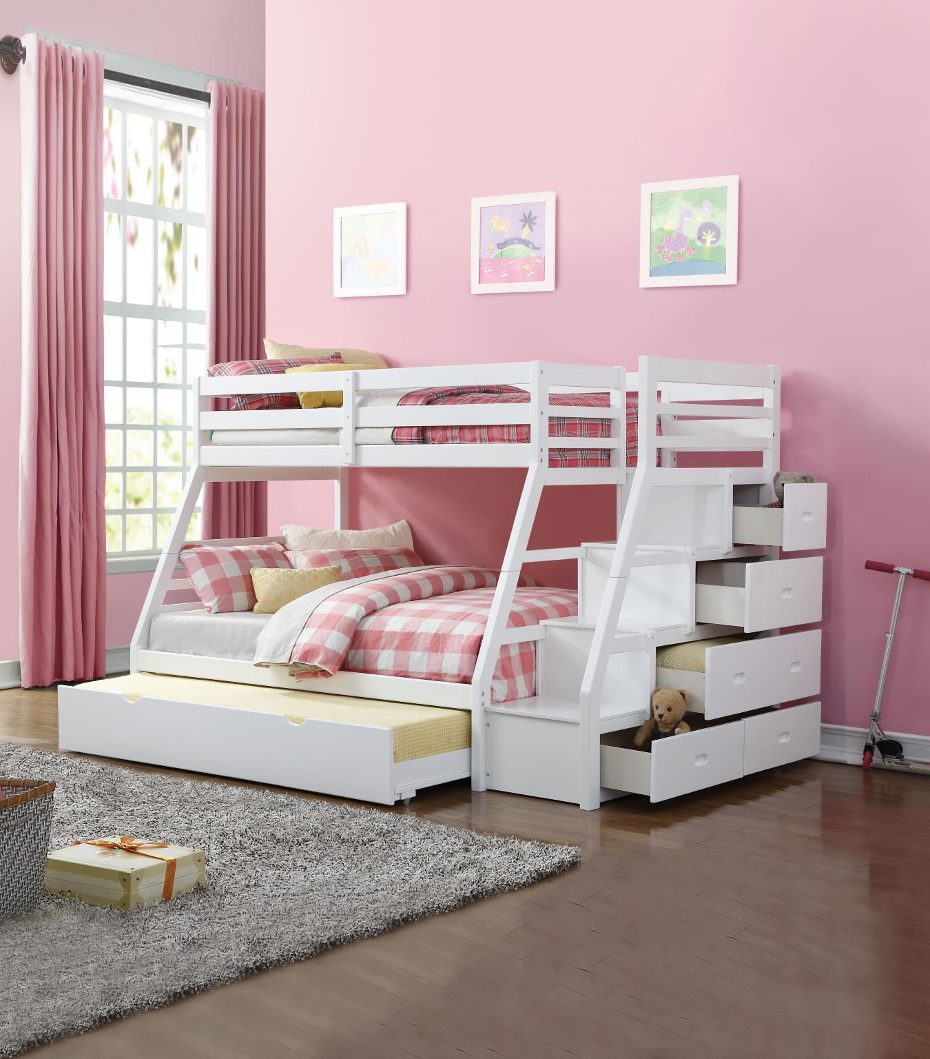 w Trundle and Storage Ladder