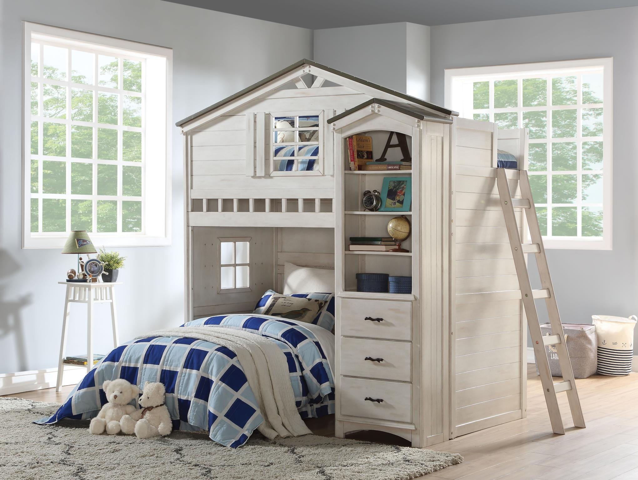 Complete Treehouse Loft Bunk Bed