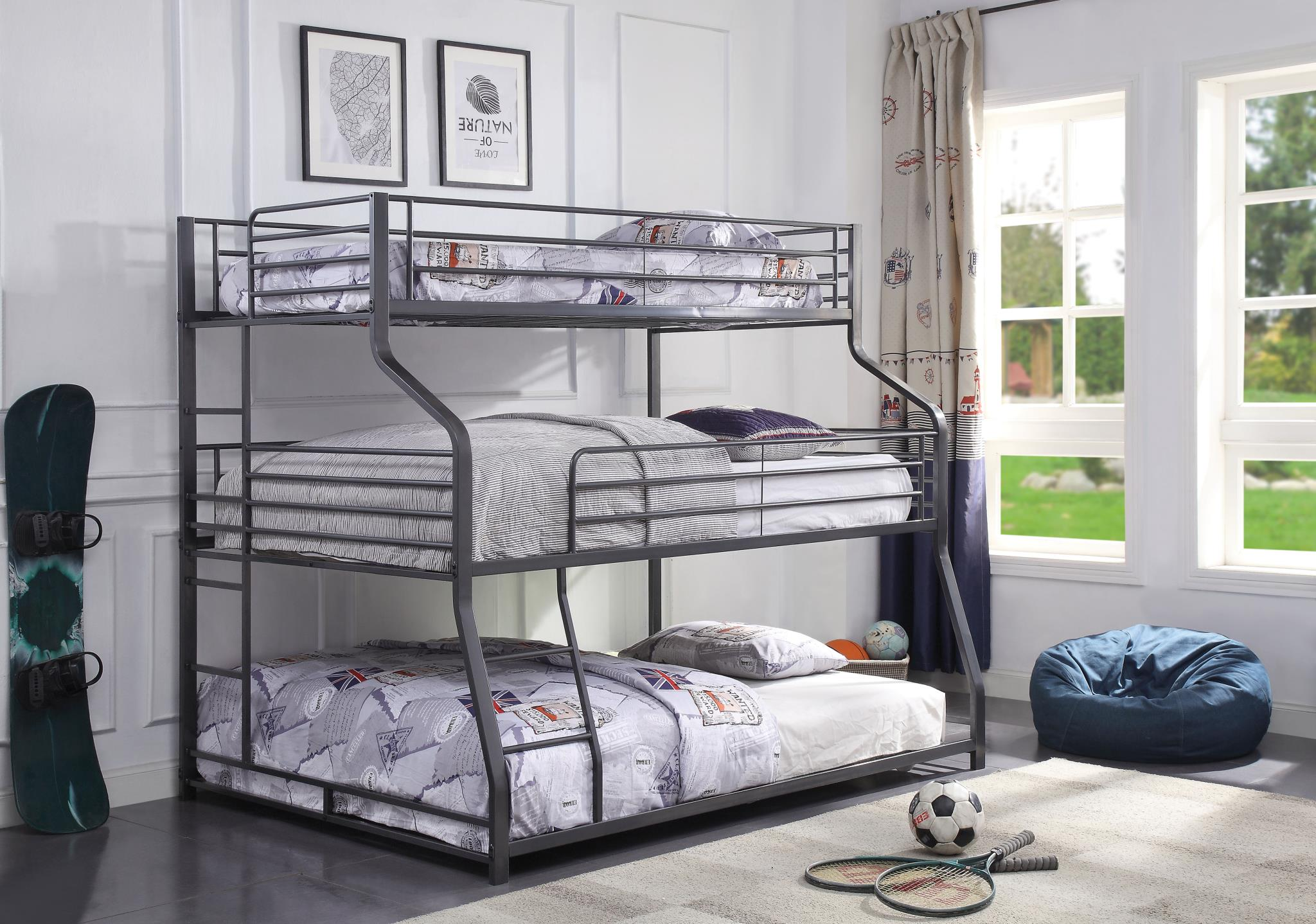 Three Layer Bunk Bed