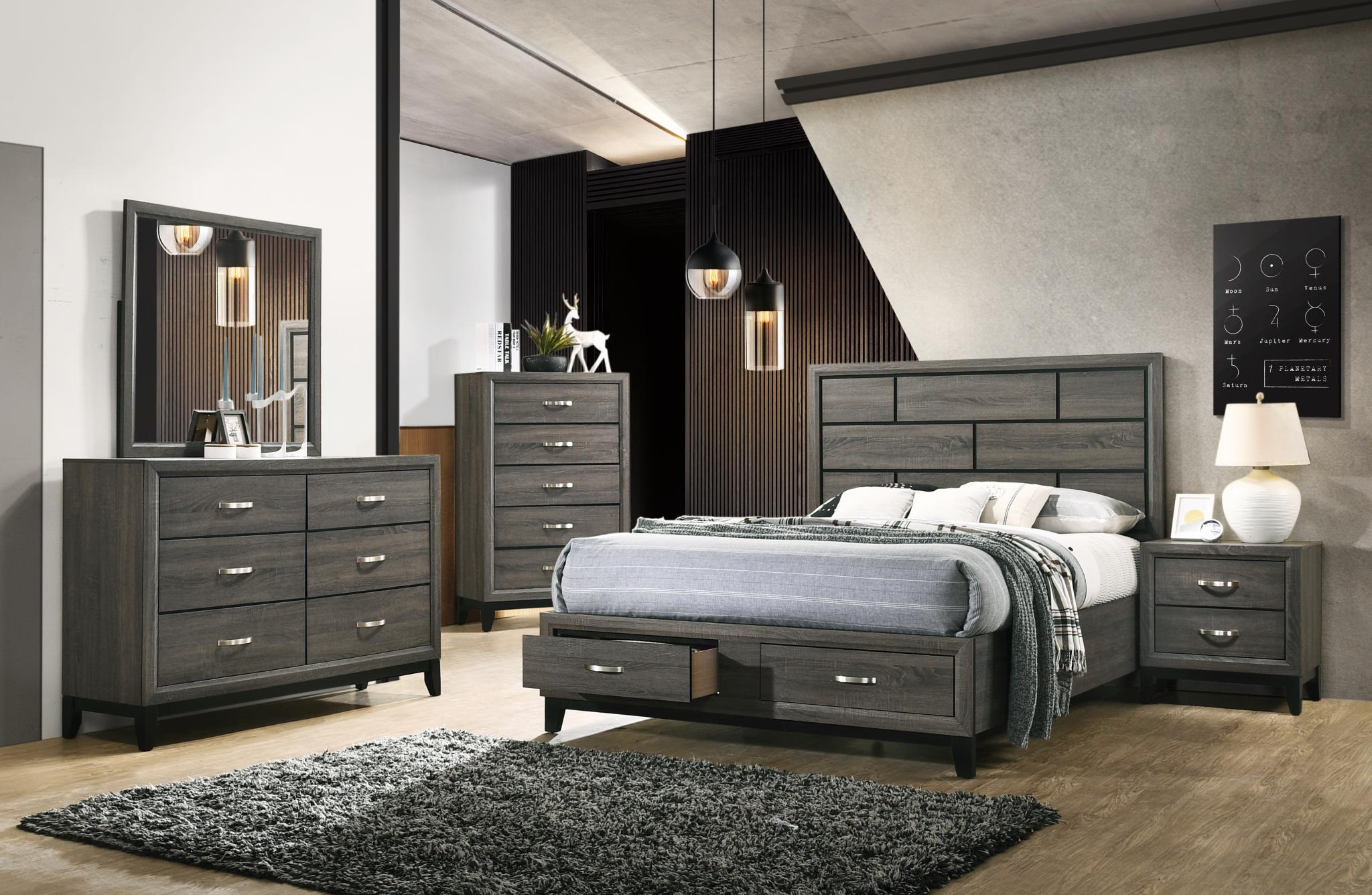Complete Storage Bed Set