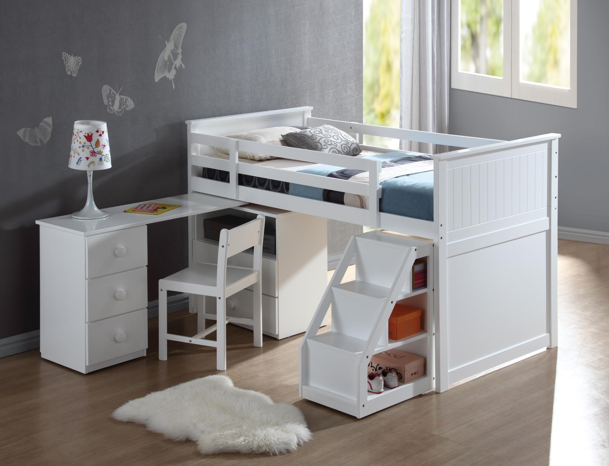 Complete Twin Loft Bed