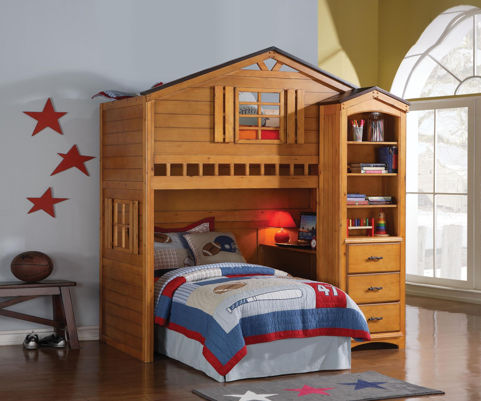 Treehouse Loft Bunk Bed