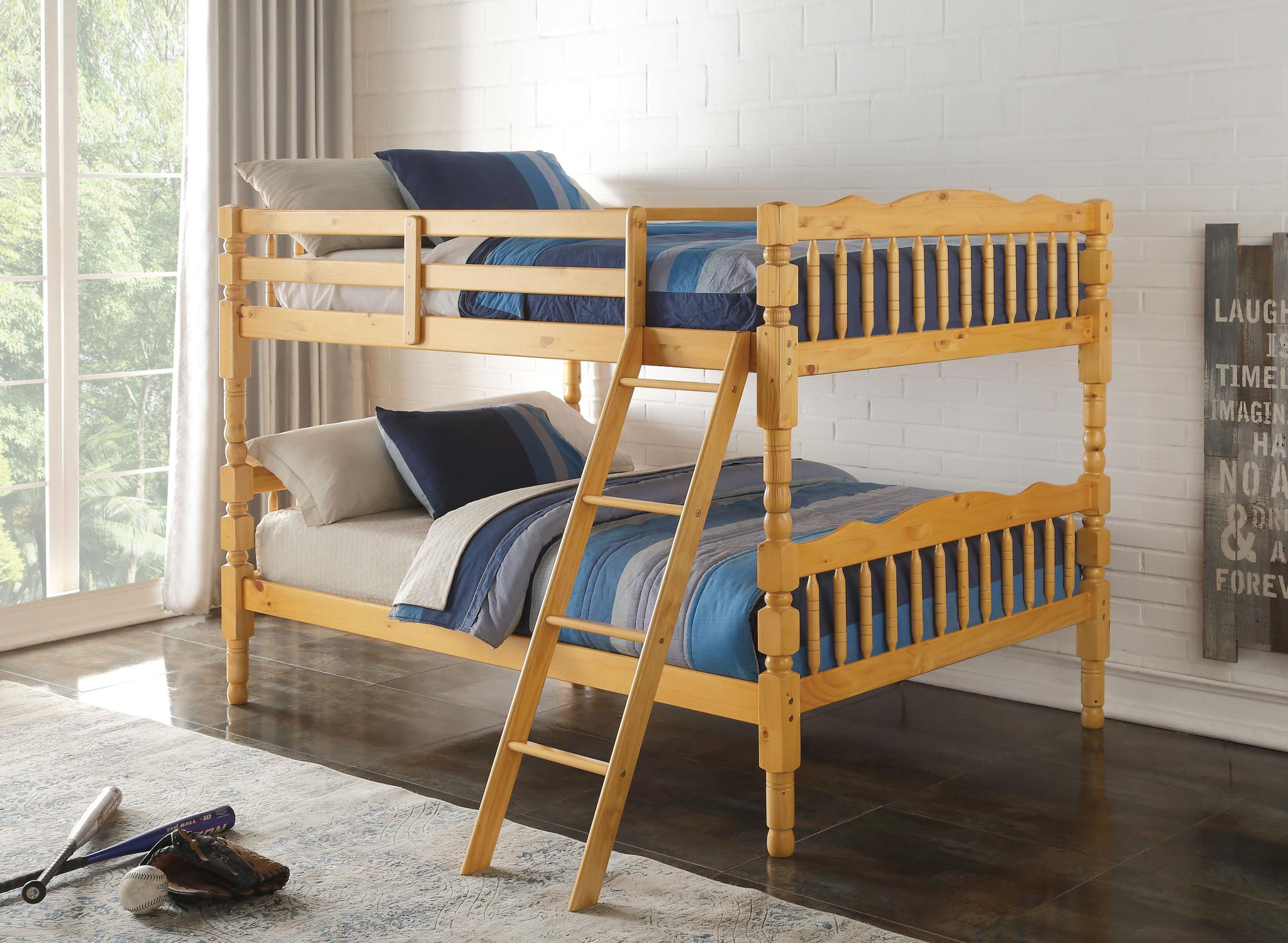 Picture of: Homestead Full Full Convertible Bunk Bed