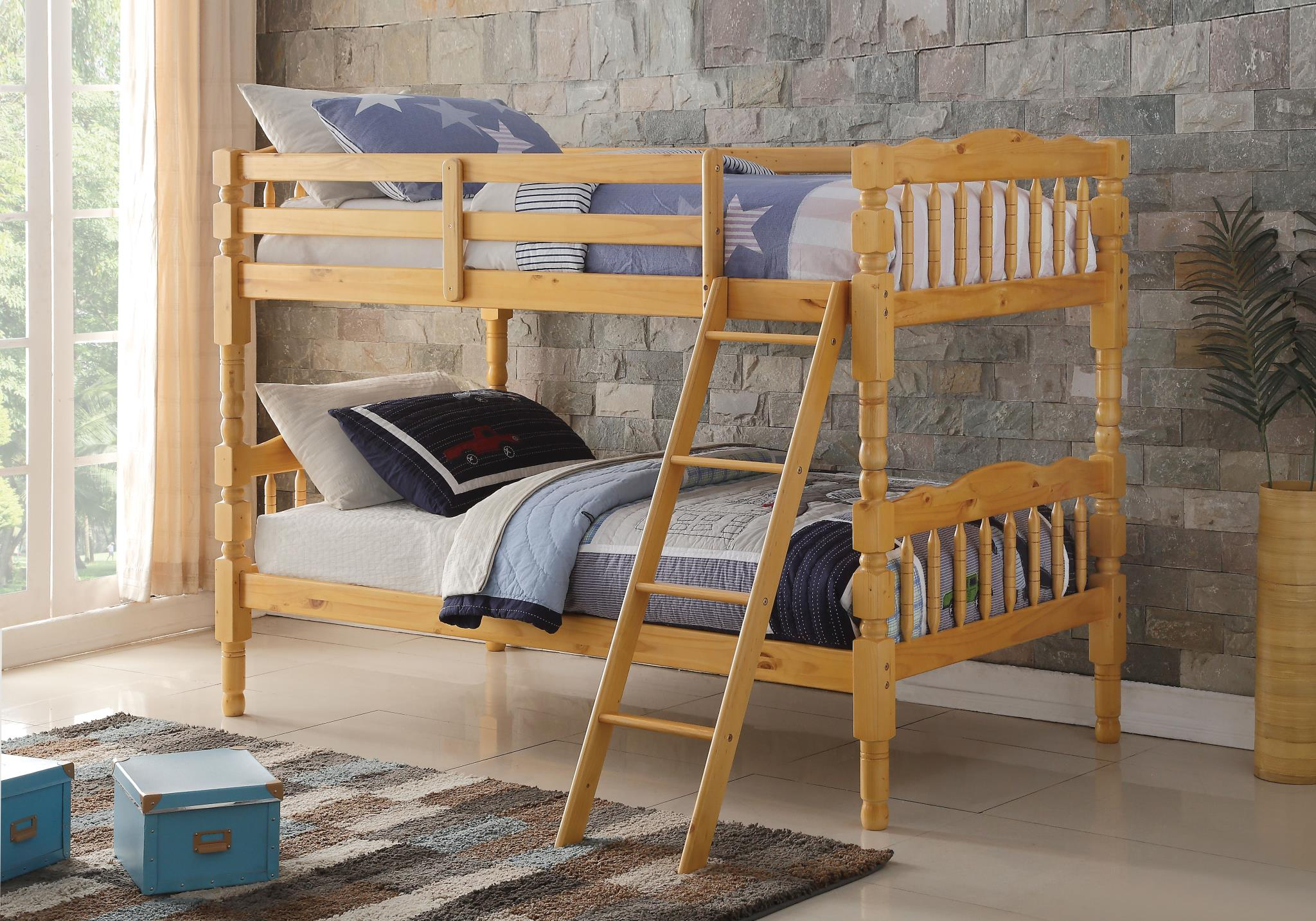 Natural Twin/Twin Bunk Bed
