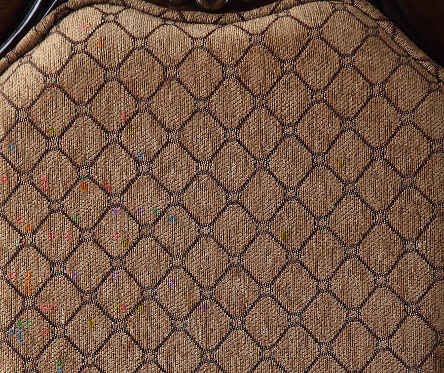 Chair Backrest Upholstery Details