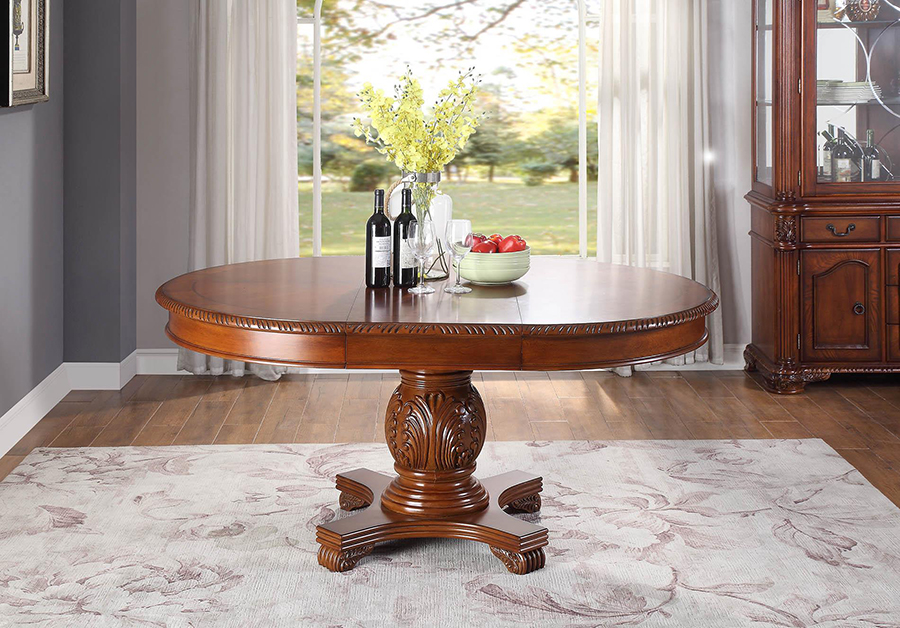 Dining Table w/ Extension Leaf