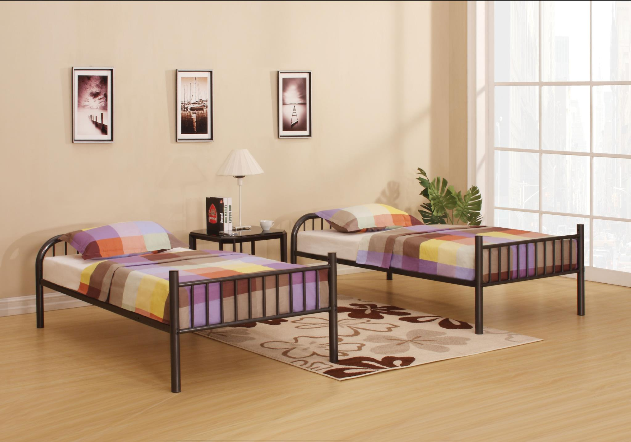 Twin Bunk Beds Used Separately