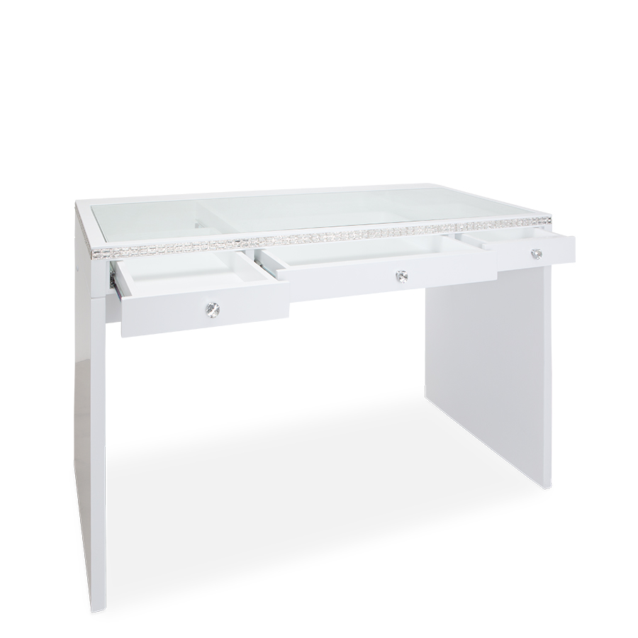 SlayStation® Plus Premium Lux Table in White