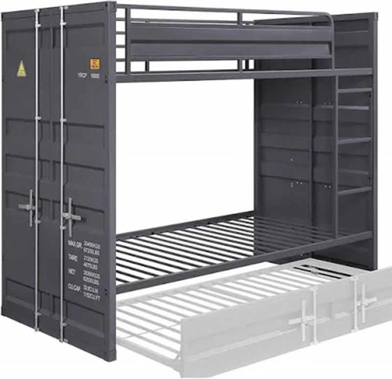Gunmetal Bunk Bed Frame
