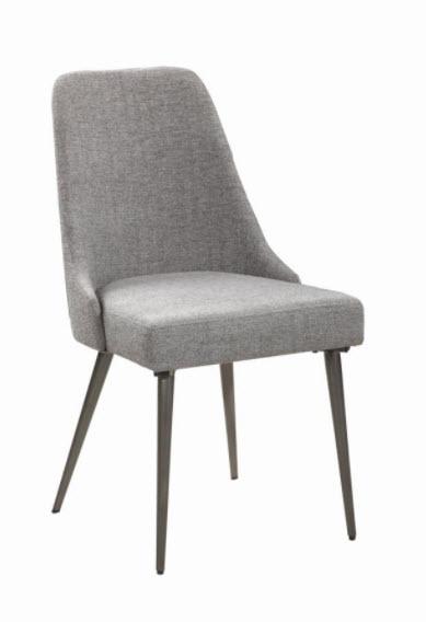 Grey & Black Chair