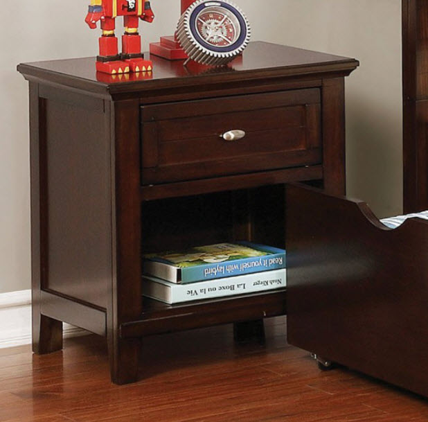 Brown Cherry Nightstand