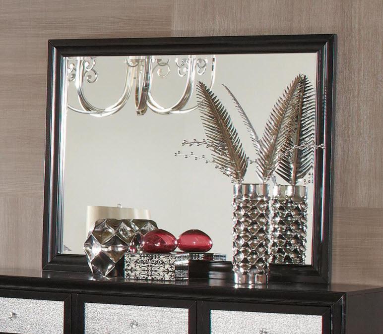 Dresser Mirror Black