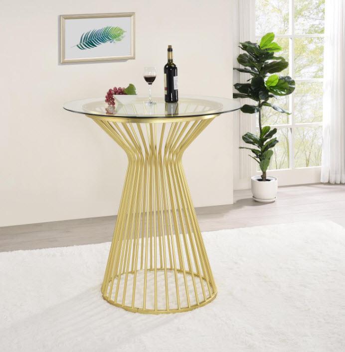 Matte Brass Table
