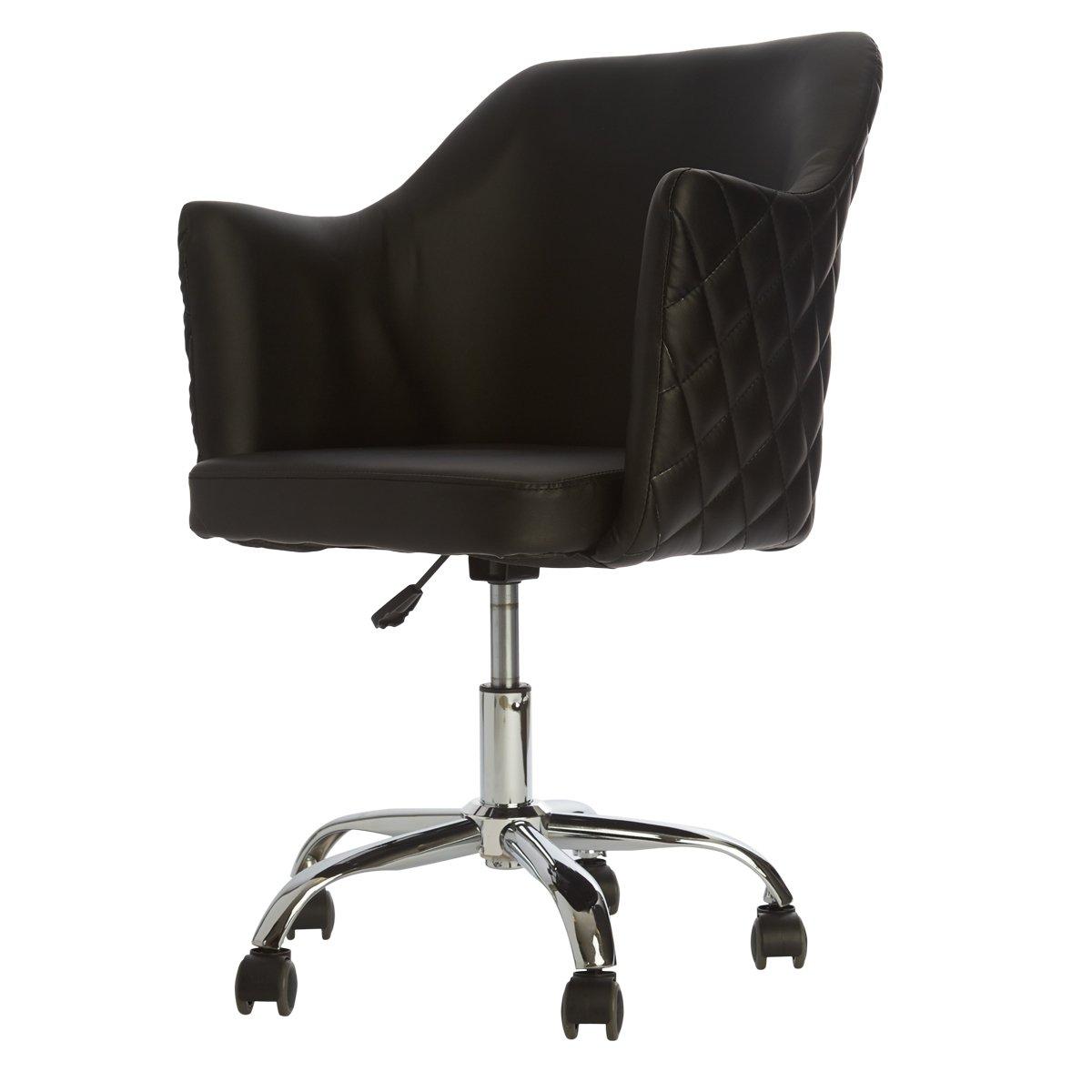 Black Vanity Chair
