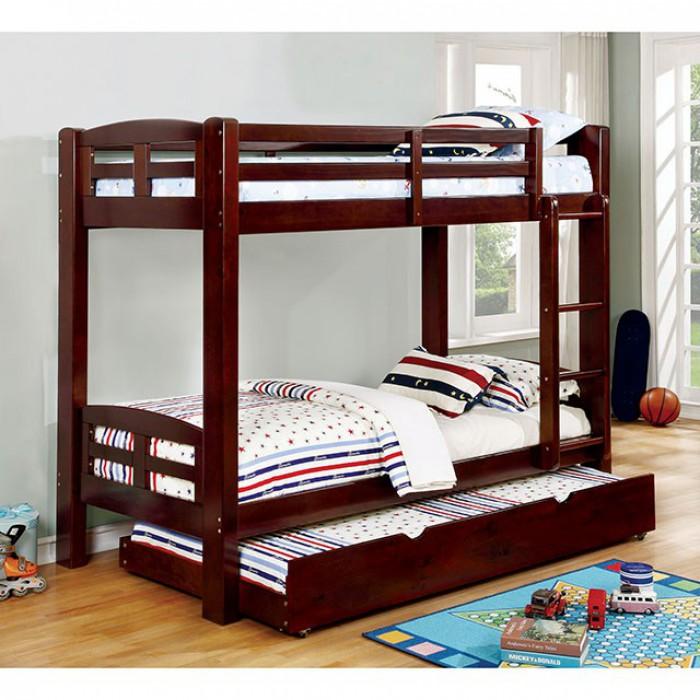 Dark Walnut Bunk Bed