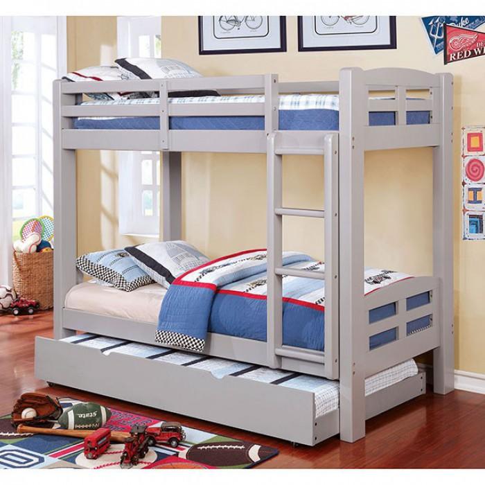 Gray Bunk Bed