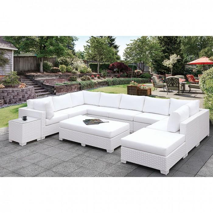 Complete Patio U-Sectional Sofa Set