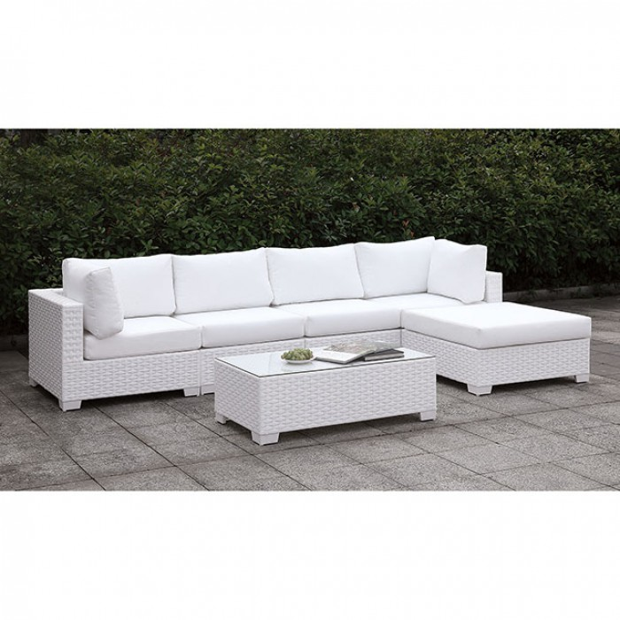 Right Chaise and Coffee Table