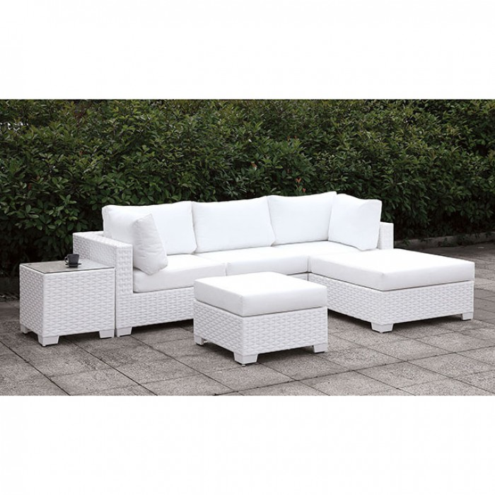 Right Chaise and Ottoman