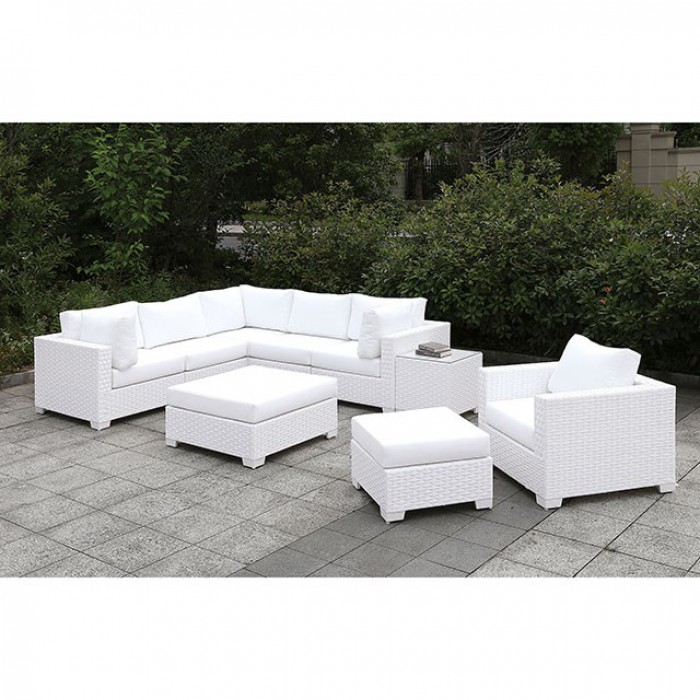 Chair and Ottomans