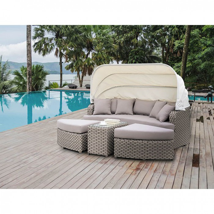 Complete 4 Piece Patio Daybed